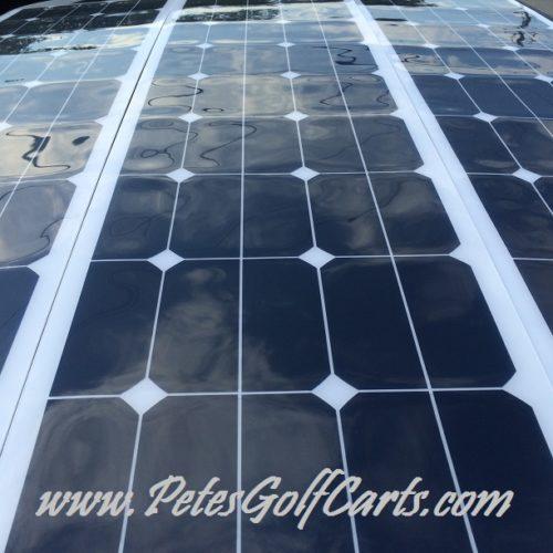 Flexible Golf Cart Solar Panels