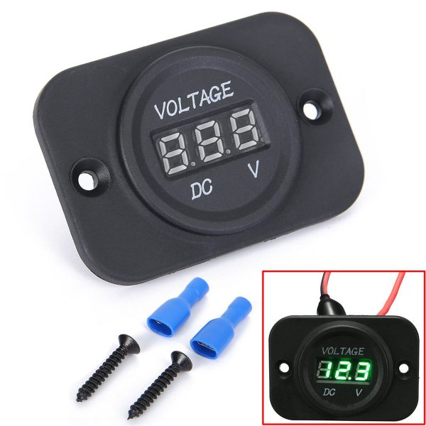 Golf Cart Battery Meter 12 Volt Digital