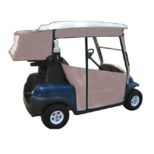 Golf Cart Enclosure Side Curtains and Club Cover Club Car Precedent