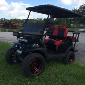2016 Club Car Golf Cart Custom Fuel Injected Model Side View WM