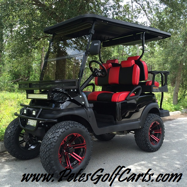 2016 Club Car Golf Cart Custom Fuel Injected Model - Pete's Golf Carts