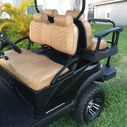 Custom Caddy Golf Cart For Sale Lifted Sedan Leather