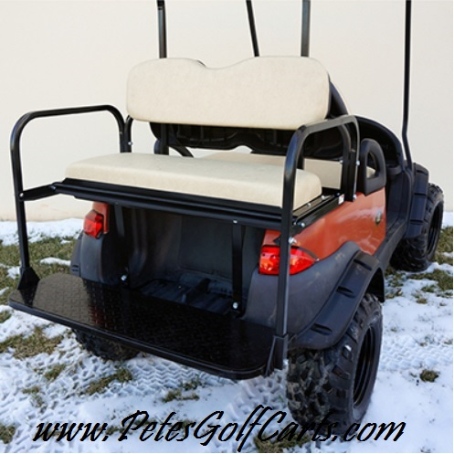 Flip Down Rear Seat Kit For Club Car Precedent Old Style - Pete\'s ...