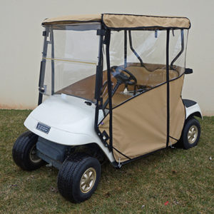 Golf Cart Enclosure Ezgo TxT 1996-2013 Beige