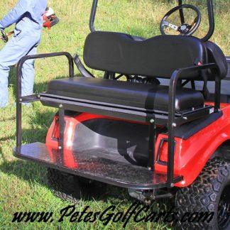 Golf Cart Seat Kit Club Car DS Models BLK WM PGC