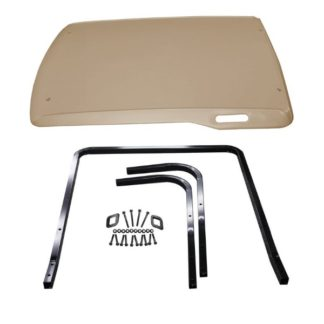 Golf Cart Top Ezgo RXV Stone Beige OEM Kit 2008 and Up