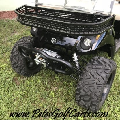 Yamaha Drive Golf Cart Long Travel Lift Kit Installed